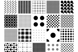 Peas, circles & polka dots patterns