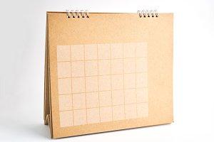 Calendar format is empty.