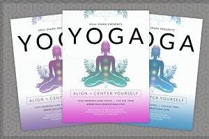 Yoga PSD Flyer Template