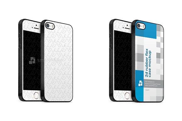 Apple iPhone SE 2d Rubber Flex Case