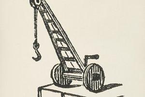 Crane icon (PSD)