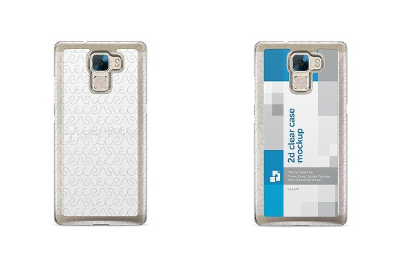 Huawei Honor 7 2d Clear Mobile Case