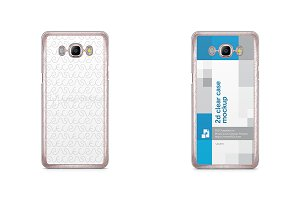 Galaxy J5 2016 2d Clear Mobile Case