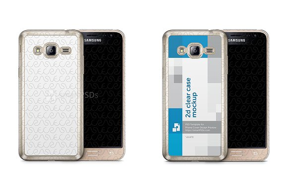 Galaxy J3 2016 2d Clear Mobile Case