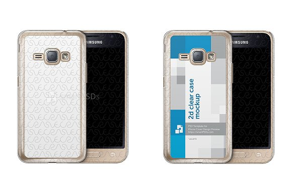 Galaxy J1 2016 2d Clear Mobile Case