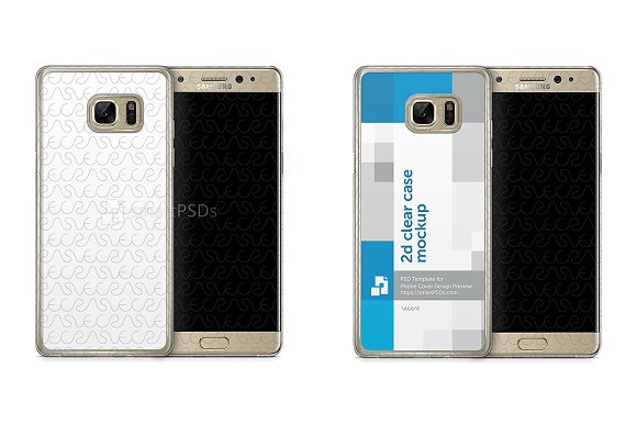 Galaxy Note 7 2d Clear Mobile Case