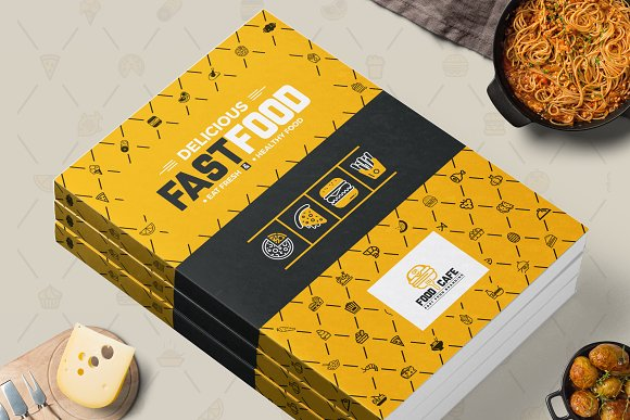 Fast Food Restaurant Brochure