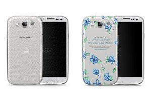 Galaxy S3 TPU Clear Mobile Case