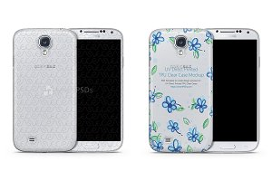 Galaxy S4 TPU Clear Mobile Case