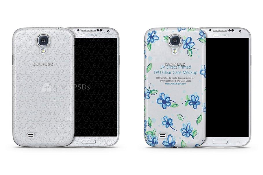 Galaxy S4 TPU Clear Mobile Case