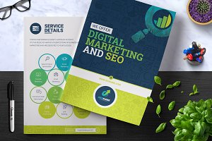 SEO & Digital Marketing Brochure