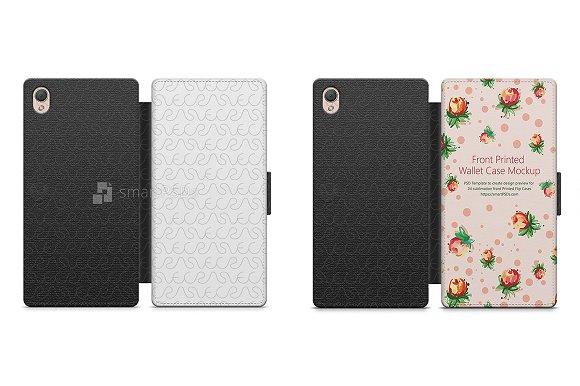 Sony Xperia Z3 2d Wallet Mobile Cas