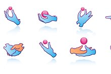 Hands Web Icons