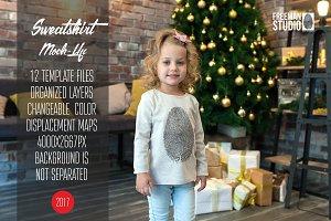 Christmas Sweatshirt Mock-Up 2017