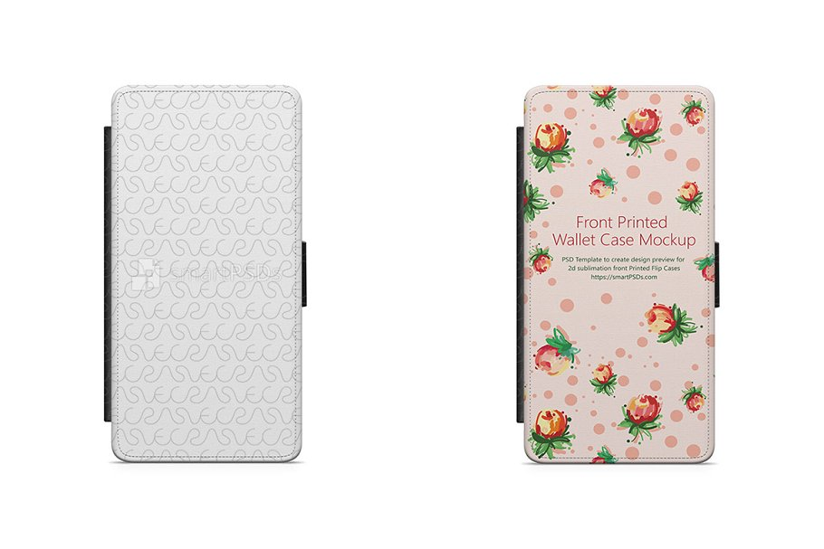 Galaxy A5 2016 2d Wallet MobileCase in Product Mockups - product preview 8