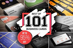 Best 101 Prime Business Cards Bundle