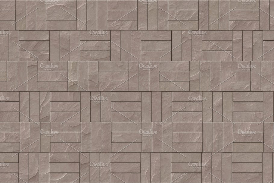 15 Seamless Stone Cladding Textures in Textures - product preview 4