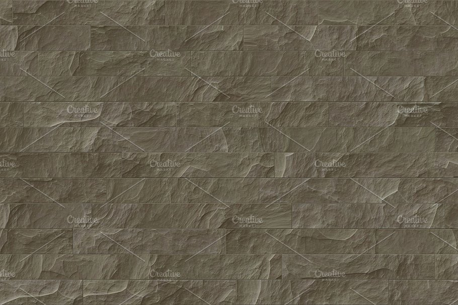 15 Seamless Stone Cladding Textures in Textures - product preview 5