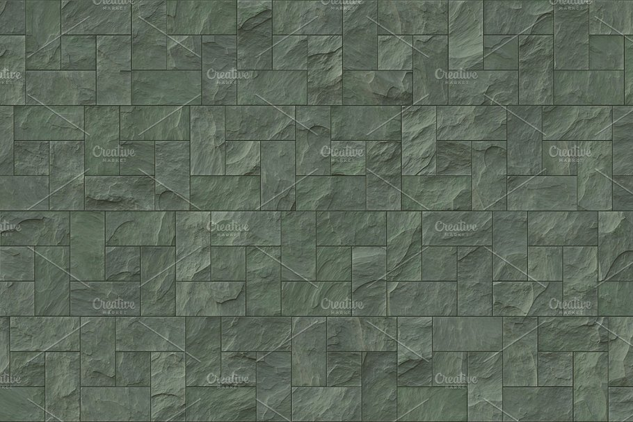 15 Seamless Stone Cladding Textures in Textures - product preview 6