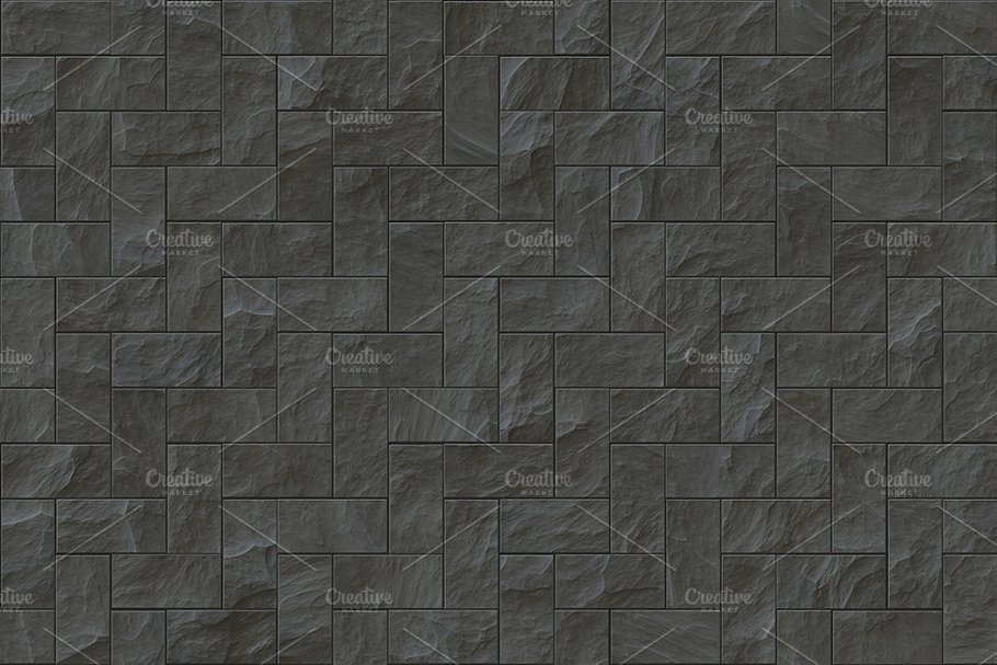 15 Seamless Stone Cladding Textures in Textures - product preview 8