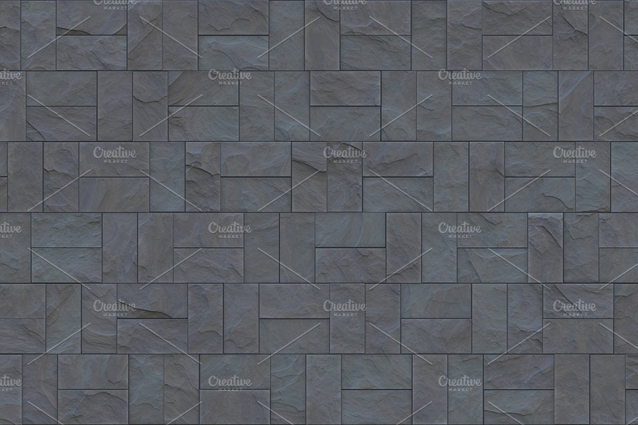 15 Seamless Stone Cladding Textures in Textures - product preview 9