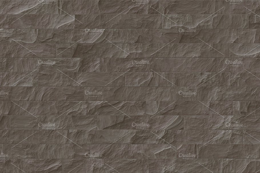 15 Seamless Stone Cladding Textures in Textures - product preview 10