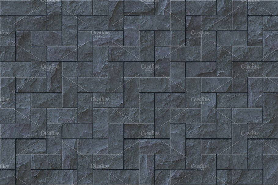15 Seamless Stone Cladding Textures in Textures - product preview 12