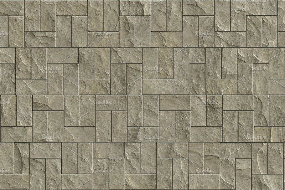 15 Seamless Stone Cladding Textures in Textures - product preview 13