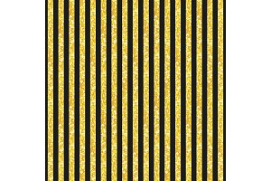 Cute seamless pattern of golden glitter stripes