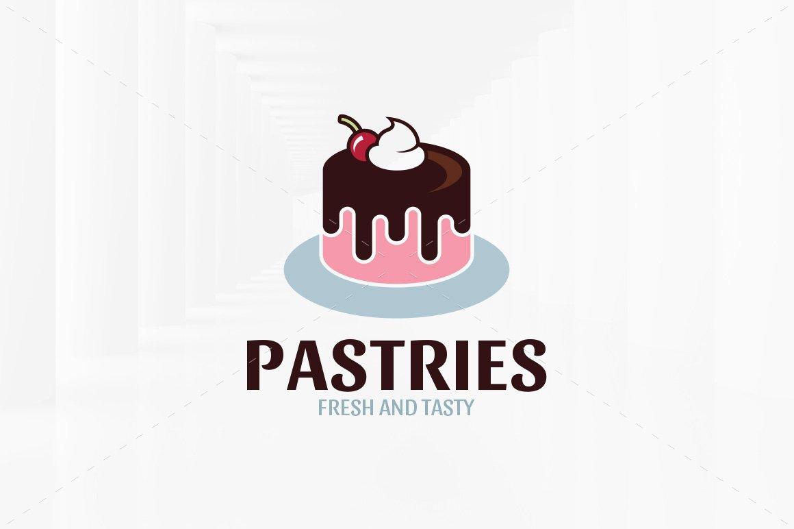 Pastries Logo Template ~ Logo Templates ~ Creative Market