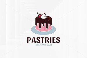 Pastries Logo Template