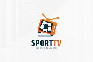 Sport TV Logo Template