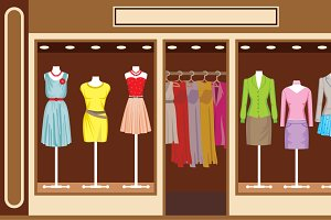 Women's clothing shop