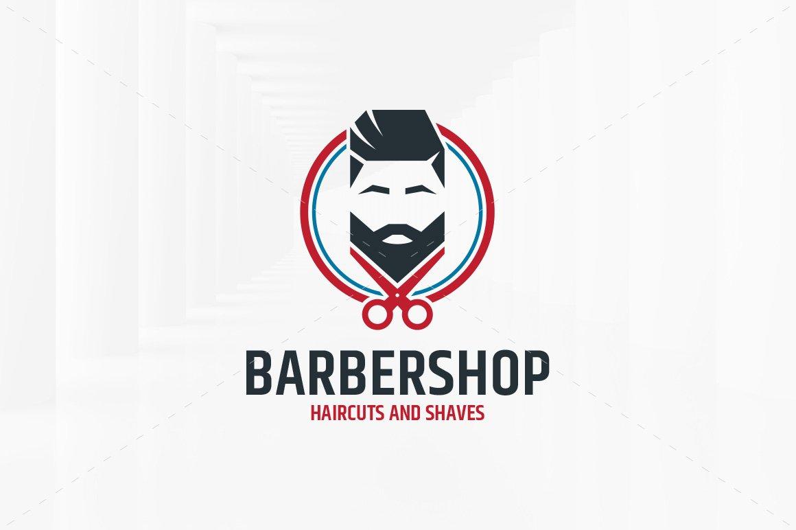 Barber Shop Logo Template ~ Logo Templates ~ Creative Market