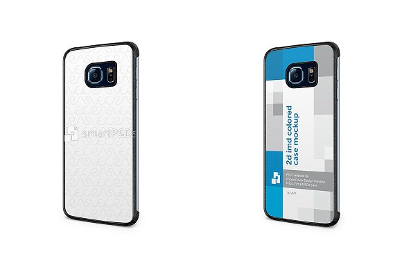 Galaxy S4 Mini 2d IMD Colored Case