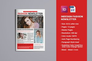 Fashion Newsletter Template V772