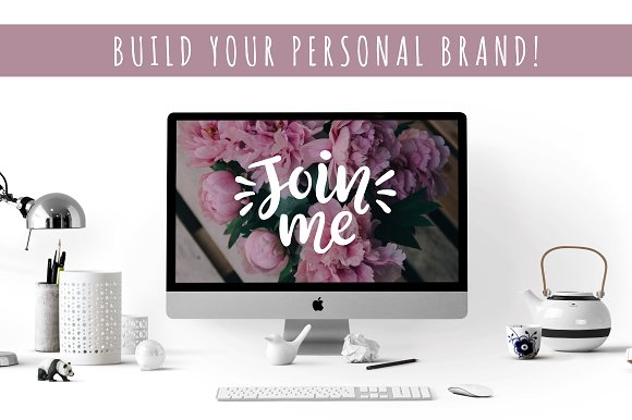 Social Media Lettering Overlays Pack in Objects - product preview 5
