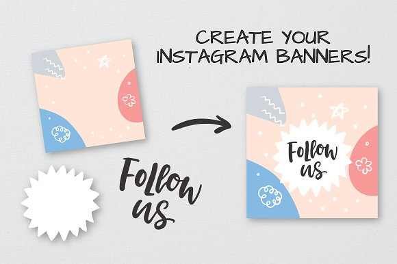 Social Media Lettering Overlays Pack in Objects - product preview 11