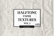 Halftone Paper Textures Vol. 1