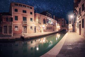 Venice starry nights