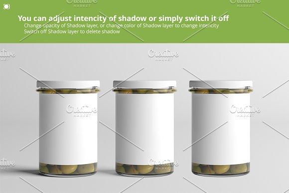 Oil / Jam / Honey Jar Mock-up Set.2 in Product Mockups - product preview 6
