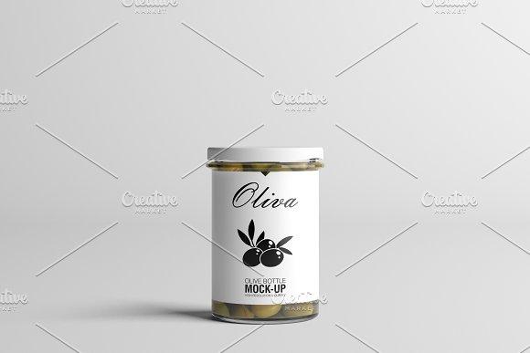 Oil / Jam / Honey Jar Mock-up Set.2 in Product Mockups - product preview 8