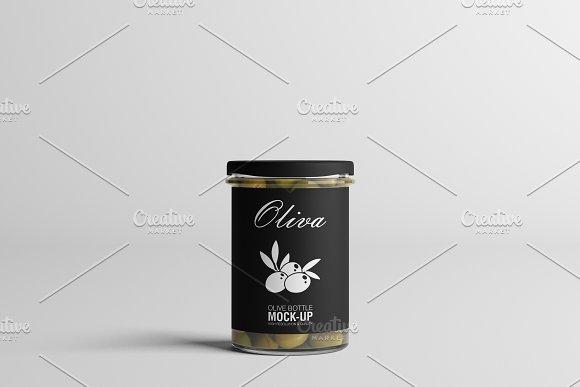 Oil / Jam / Honey Jar Mock-up Set.2 in Product Mockups - product preview 9