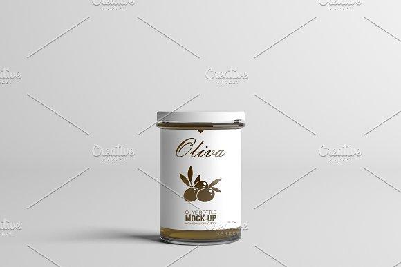 Oil / Jam / Honey Jar Mock-up Set.2 in Product Mockups - product preview 10