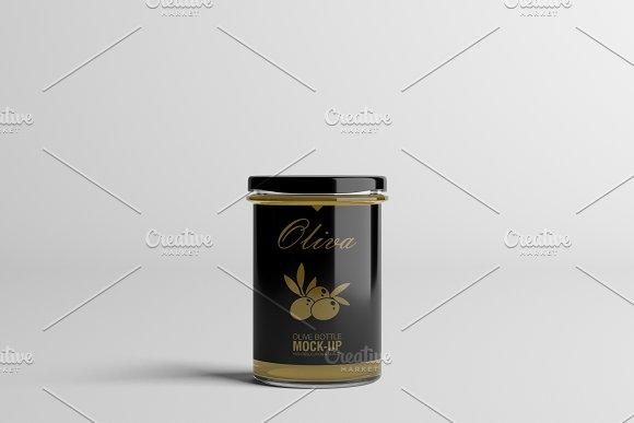 Oil / Jam / Honey Jar Mock-up Set.2 in Product Mockups - product preview 11