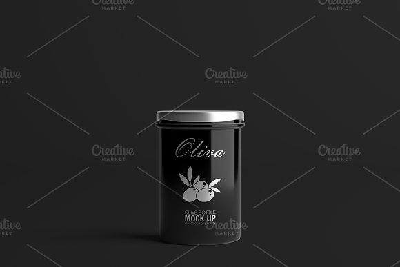 Oil / Jam / Honey Jar Mock-up Set.2 in Product Mockups - product preview 12
