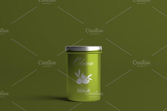Oil / Jam / Honey Jar Mock-up Set.2 in Product Mockups - product preview 13