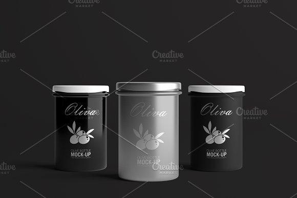 Oil / Jam / Honey Jar Mock-up Set.2 in Product Mockups - product preview 16