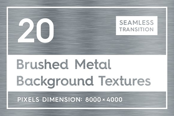 20 Brushed Metal Background Textures