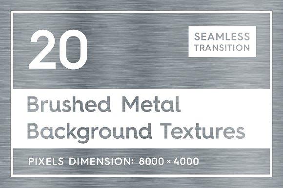 20 Brushed Metal Background Textures in Textures
